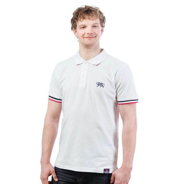 Rostocker Polo-Shirt, weiß
